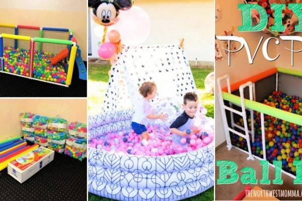 10 Simple DIY Ball Pit Ideas That Anyone Can Make
