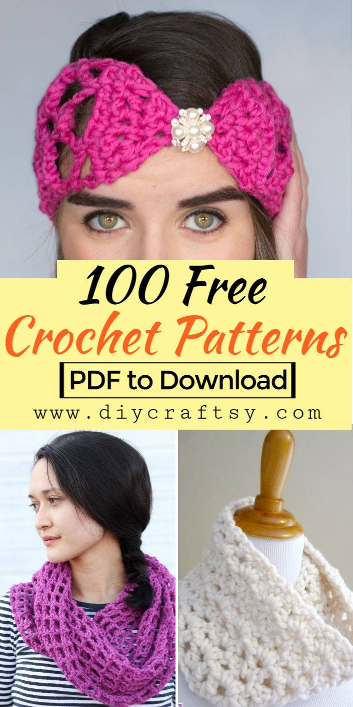 100 Free Crochet Patterns to Download