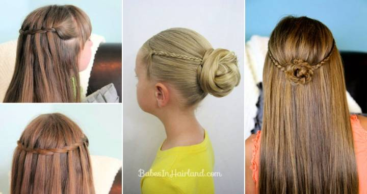 25 Best Tween and Toddler Hairstyles for Girls