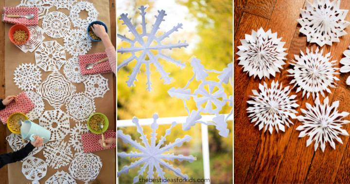 30 Unique and Simple DIY Paper Snowflake Patterns