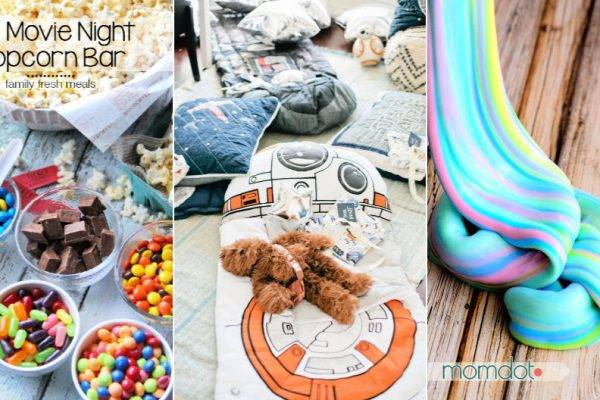 50 Sleepover Ideas for Kids Tweens or Teens