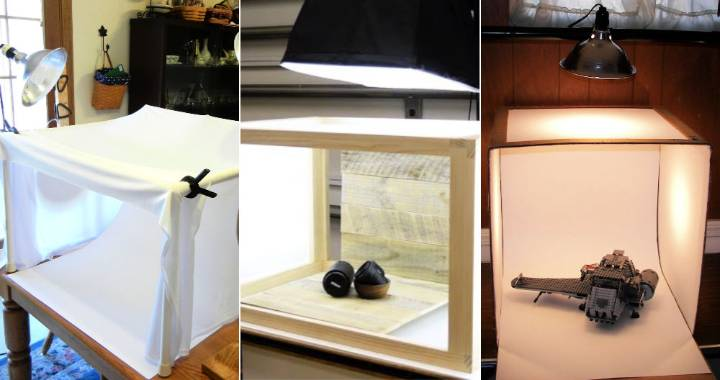 Easy DIY Light Box Ideas for Inexpensive Photography