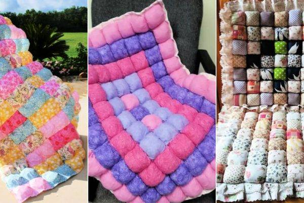 Free Puff Quilt Patterns To Keep You Warm