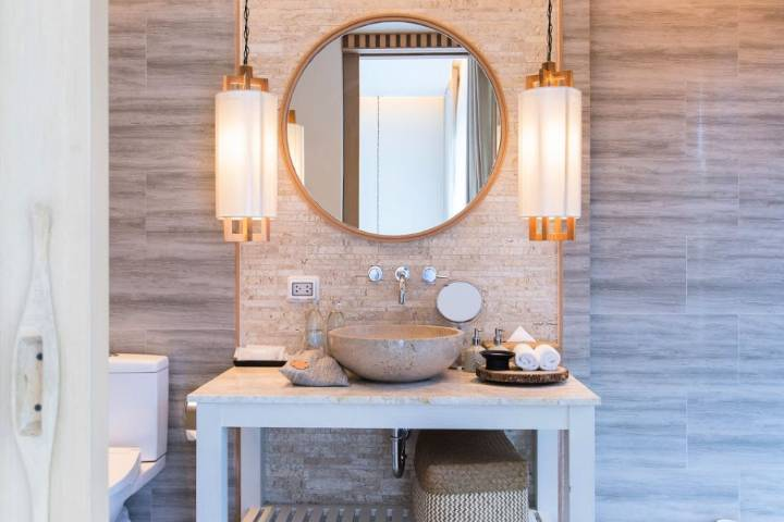 Lighting for your cloakroom