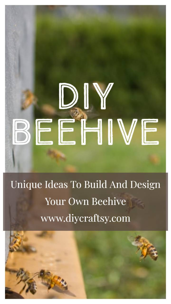 Unique Ideas To Build And Design Your Own Beehive