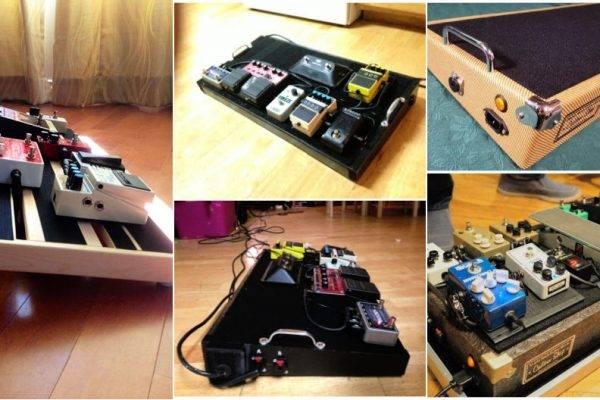11 Ways to Make DIY Pedalboard at Home - diy pedalboard plans