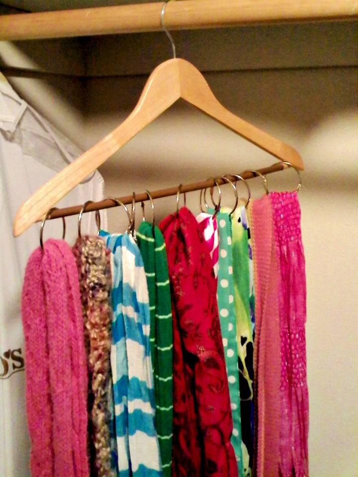 Scarf Hanger DIY