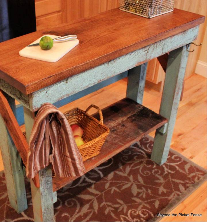 How to Make Kitchen Table Island