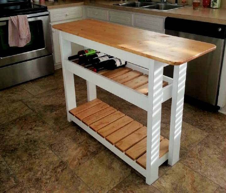 Simple Kitchen Island