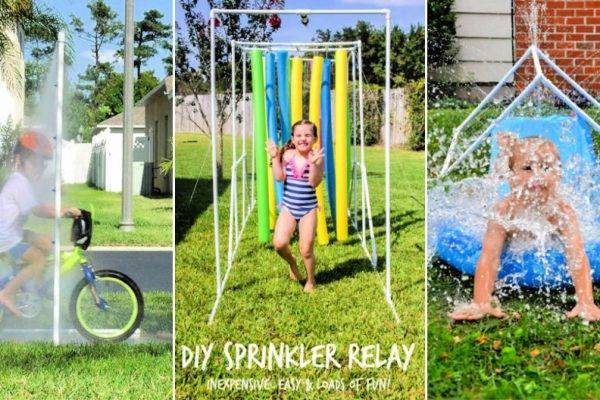 15 Cheap DIY PVC Sprinkler System