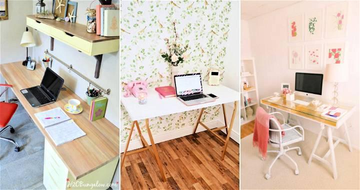 15 Inspiring DIY Ikea Desk Hacks