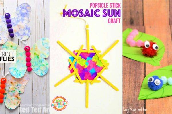 20 Easy Summer Camp Crafts for Kids