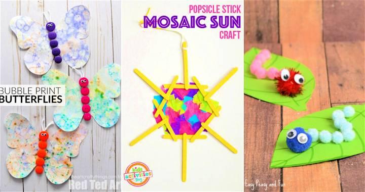 20 Easy Summer Camp Crafts for Kids