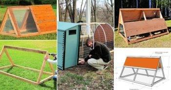 20 Free DIY Chicken Tractor Plans