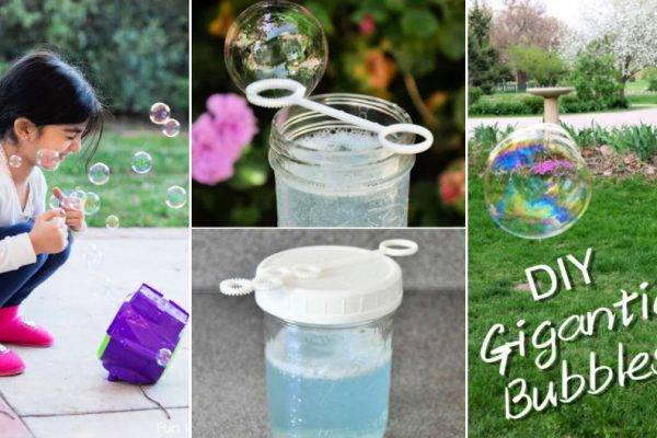 20 Ways to Make Bubbles at Home