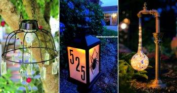 32 Simple DIY Solar Light Projects for Garden