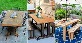 50 Simple DIY Dining Table Plans