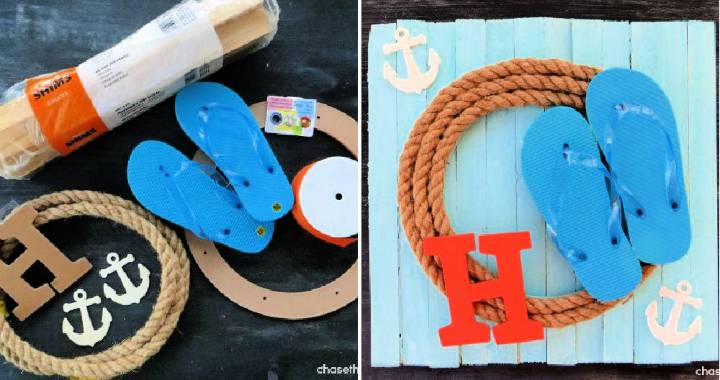 Easy DIY Summer Wreath