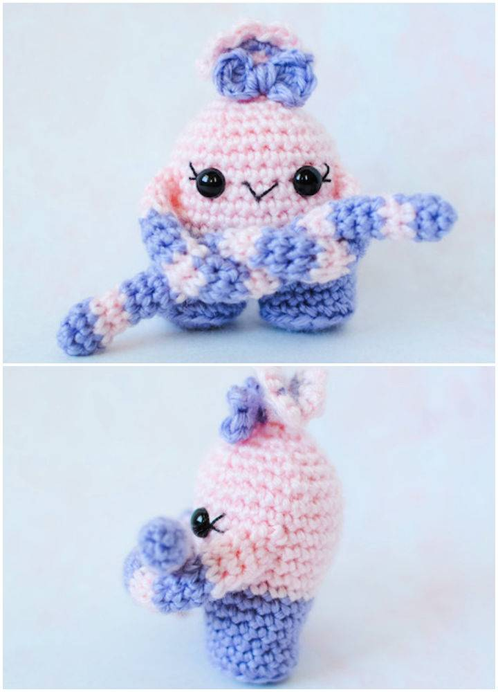 Mini Monster Amigurumi Crochet Pattern
