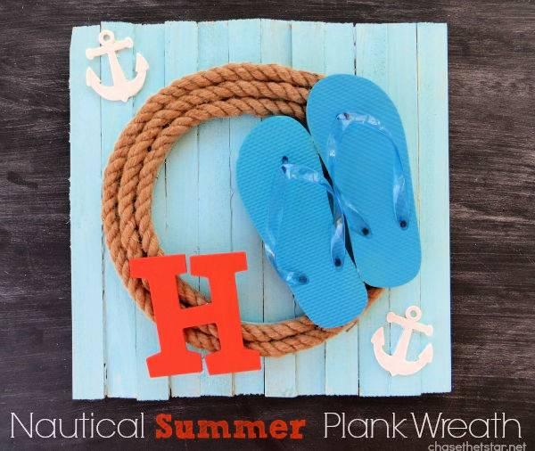 Nautical Summer Wreath