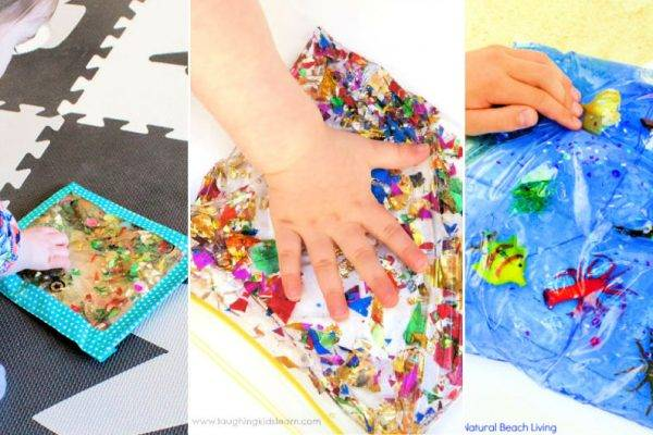 15 Easy To Make Sensory Bags for Kids