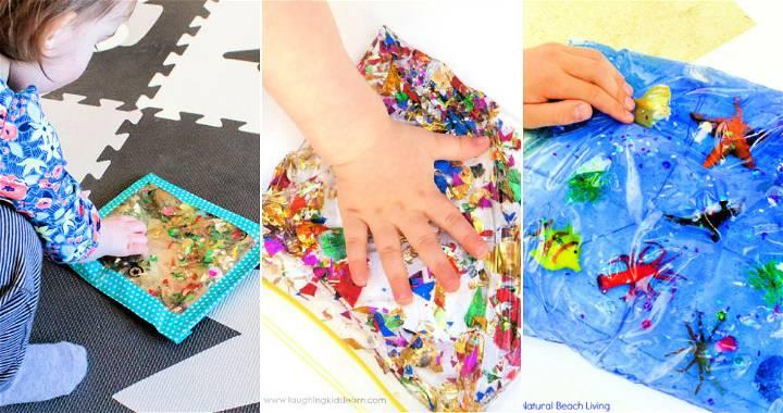 15 Easy To Make Sensory Bags for Kids