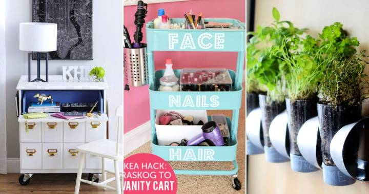 20 Best DIY Ikea Hacks To Do Home Decoration Cheaply