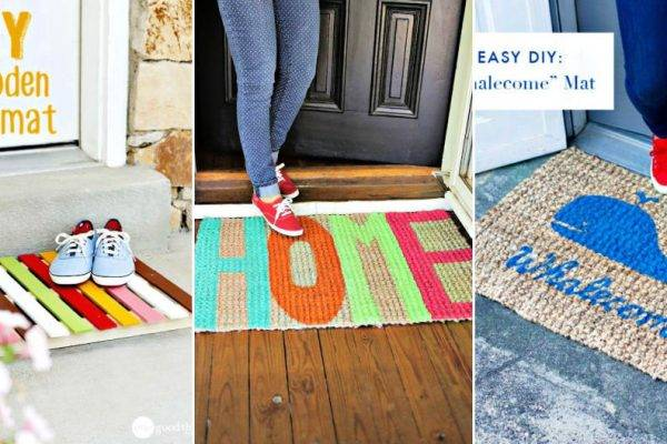 40 Beautiful DIY Doormat Ideas