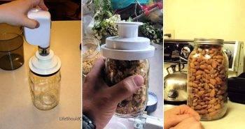 8 Best Mason Jar Vacuum Sealer Ideas to DIY