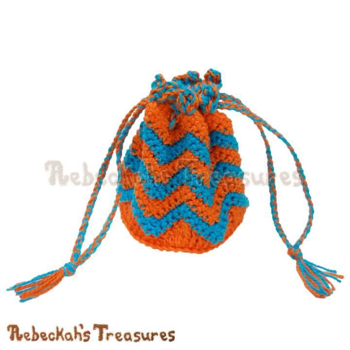 Chevron Coin Purse Free Crochet Pattern