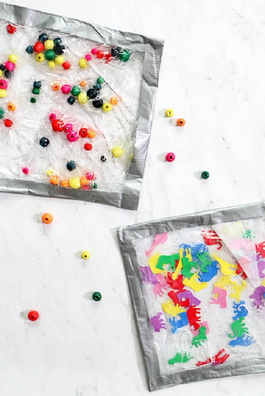 DIY Dollar Store Sensory Bags