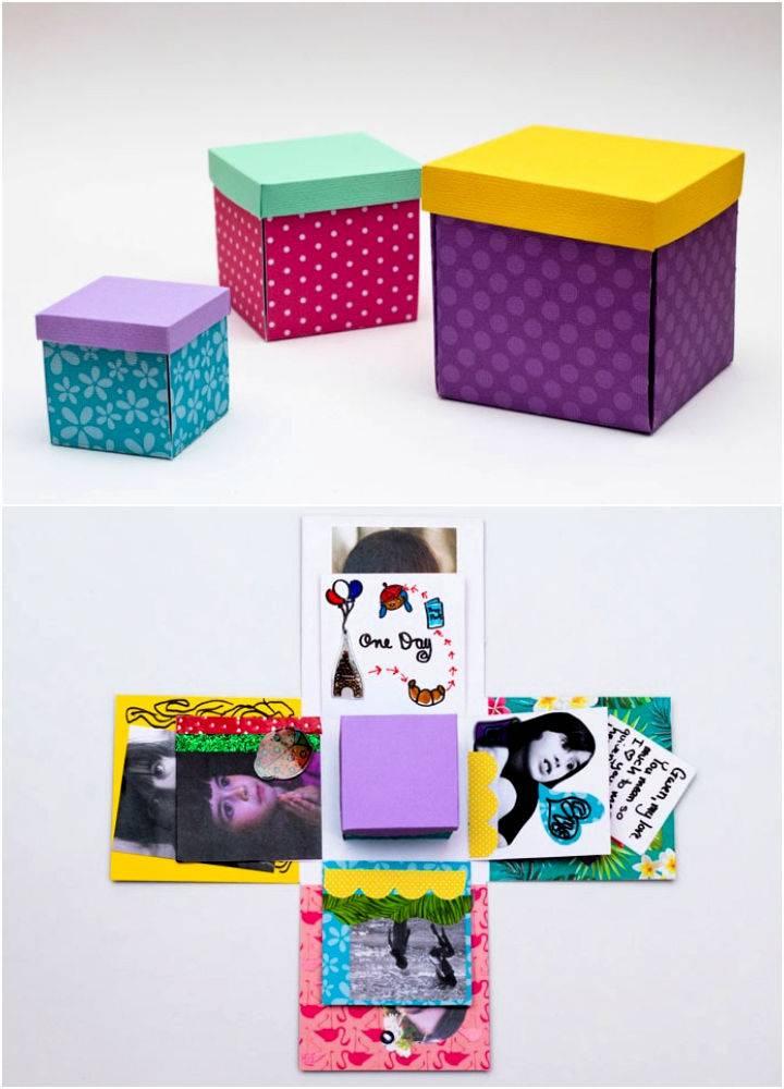 Exploding Gift Box – Paper Craft Idea