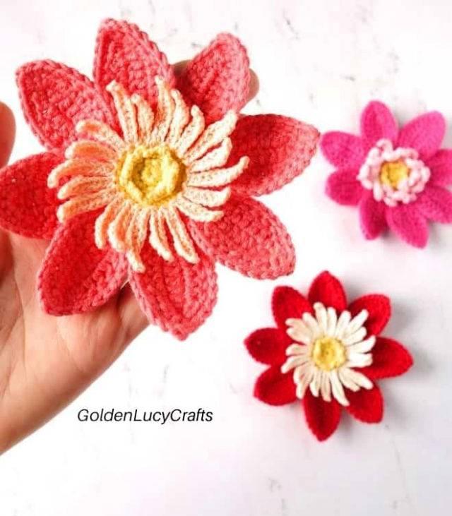 Free Crochet Dahlia Pattern