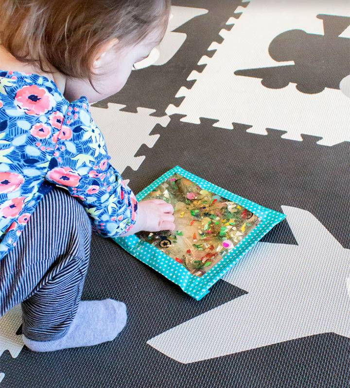 How To Make Sensory Bags for Babies Toddlers