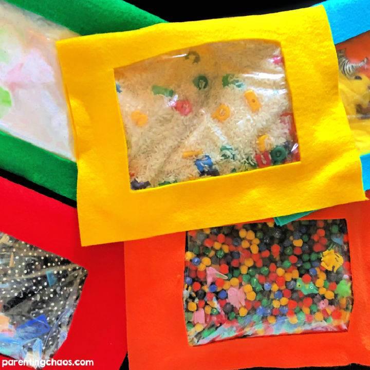 How to Make No Sew I Spy Bags For Kids