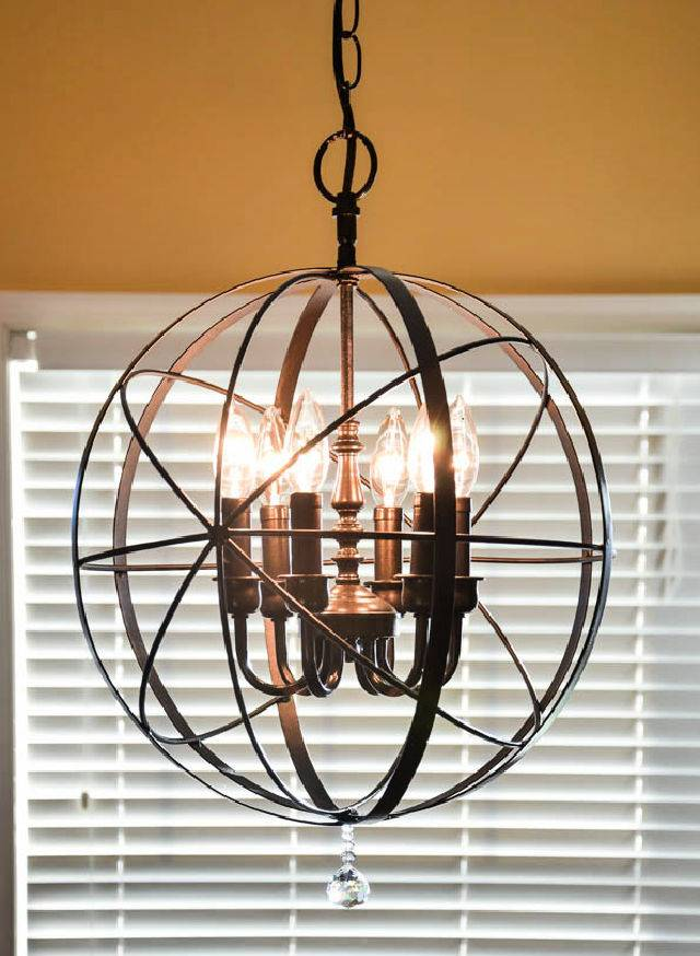 How to Make Orb Chandelier
