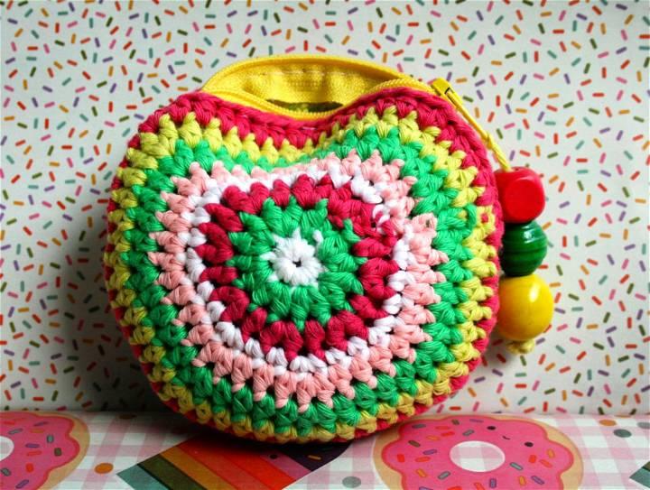 Little Crochet Coin Purse Pattern