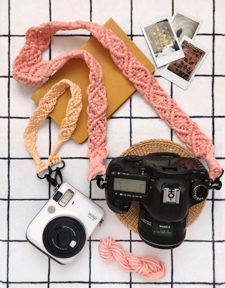 Macrame Camera Strap To Make And Sell