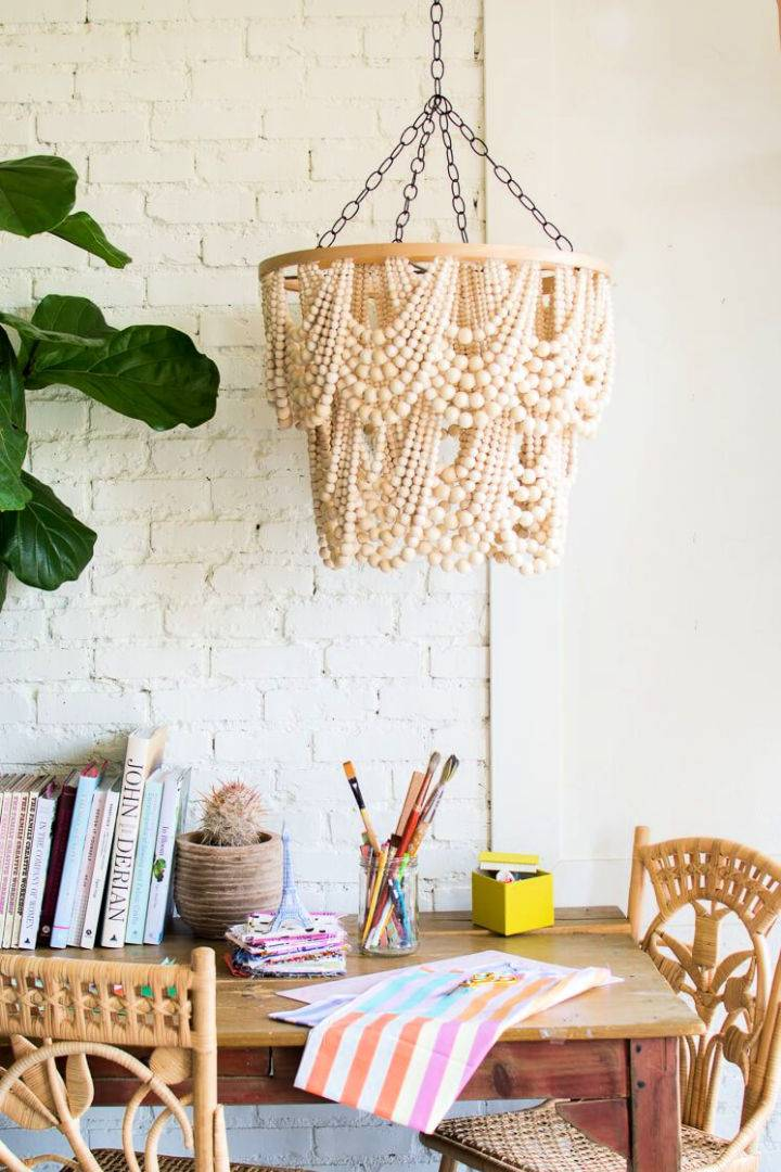 Make Beaded Chandelier at Home