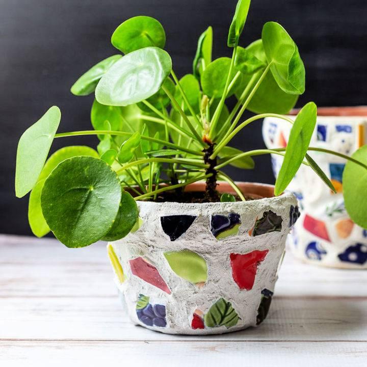 Make Your Own Mosaic Pot