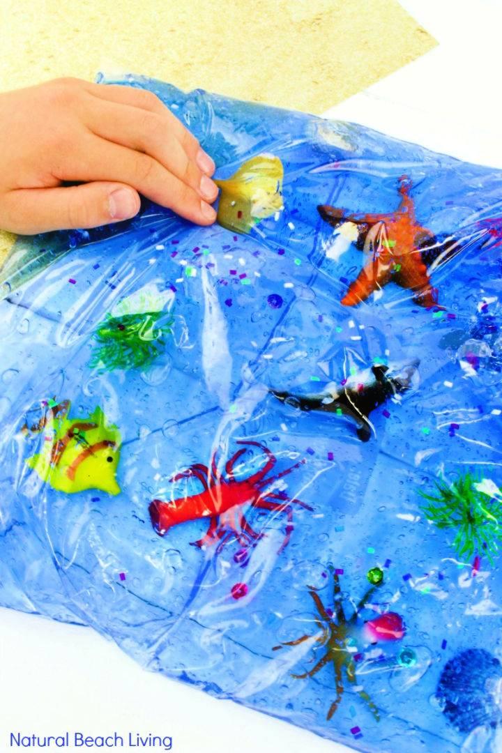 Ocean Life Sensory Bag for Toddlers