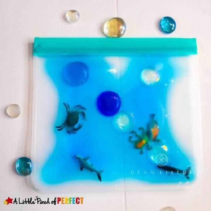 Ocean Sensory Bag For Kids