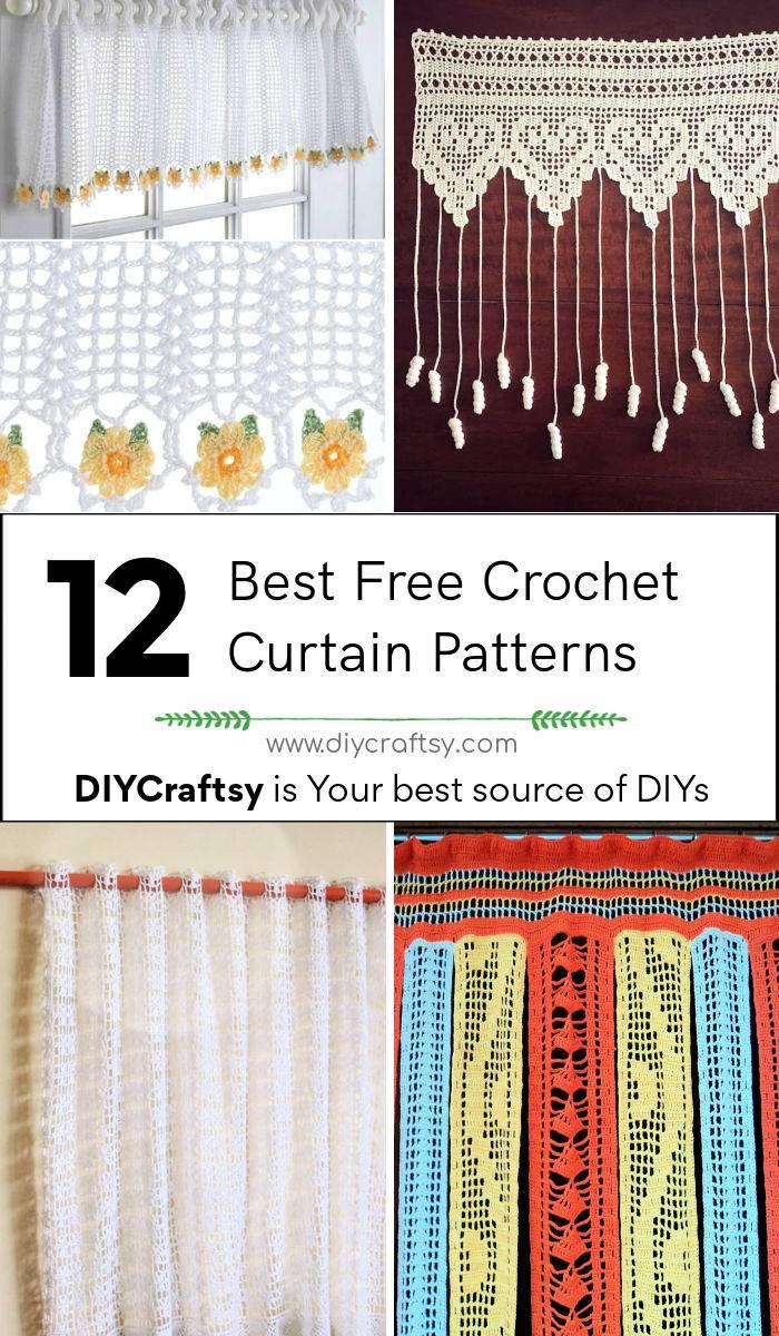12 Free Crochet Curtain Patterns