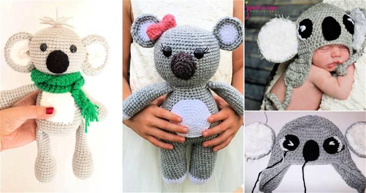 13 free crochet koala patterns koala amigurumi pattern