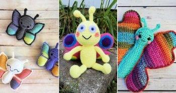 15 free crochet butterfly pattern pdf
