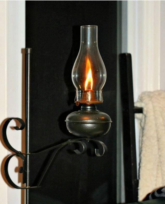 1930s Oil Lamp Gets a Modern Makeover