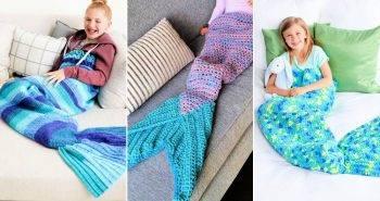 23 free crochet mermaid tail blanket pattern