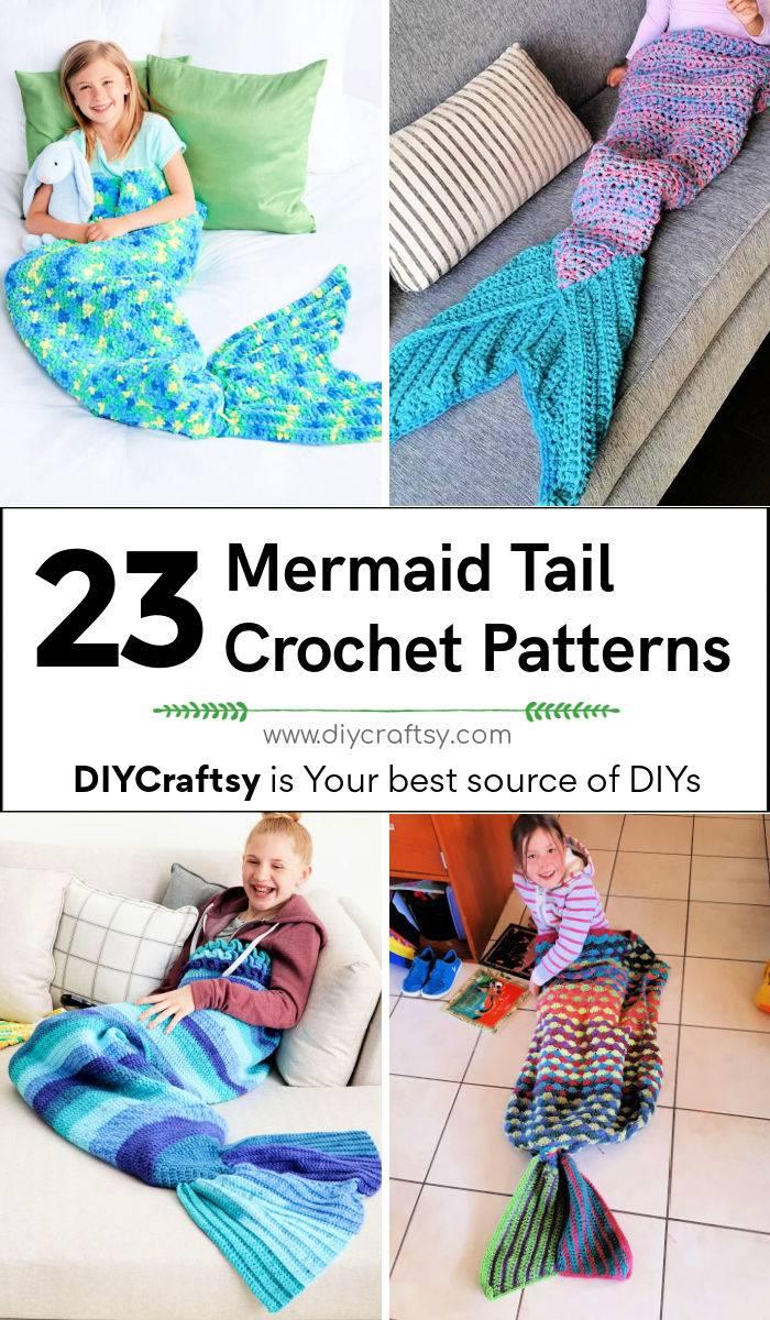 23 free crochet mermaid tail patterns mermaid tail blanket