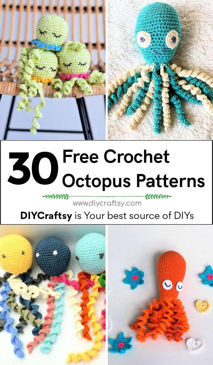 30 free crochet octopus pattern for preemies