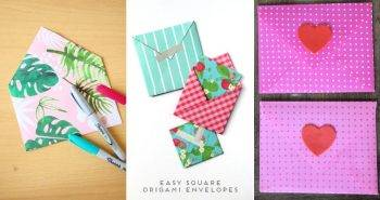 40 Simple DIY Envelope Ideas